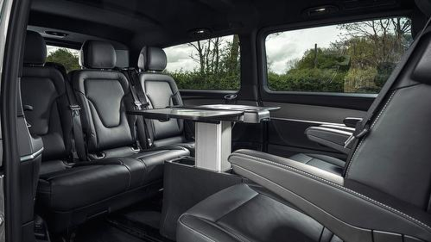 Luxury Mercedes V Class Executive Multi Seater The Grand